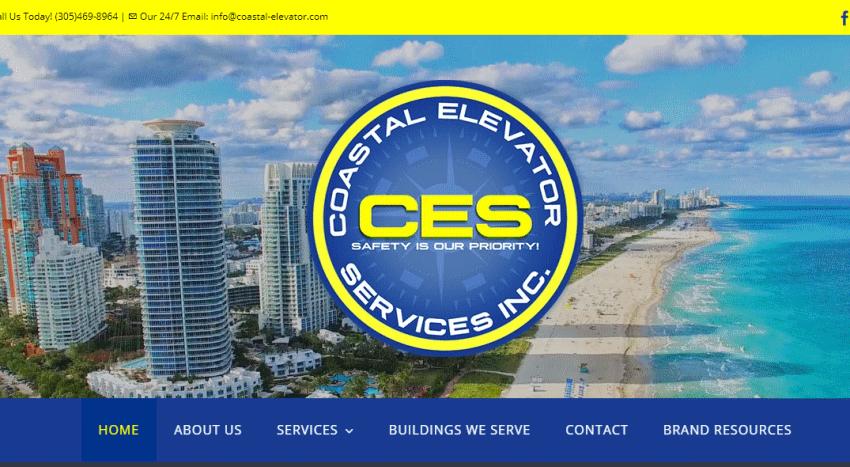 Servicio SEO UruPortal.Com Miami / Punta del Este / Piriapolis / Paginas Web / Cliente Coastal Elevator .com
